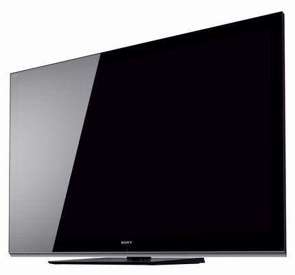液晶テレビのブラビアの画像